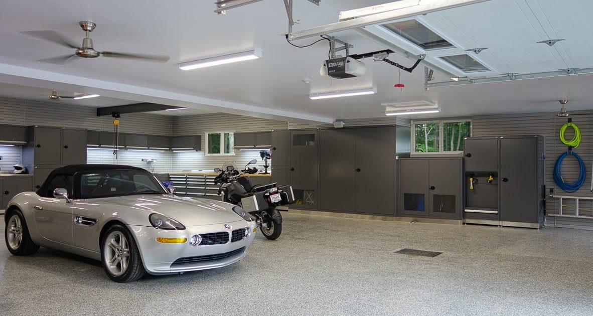 Aménagement garage triple_Blainville_1a_1_Espace Garage Plus