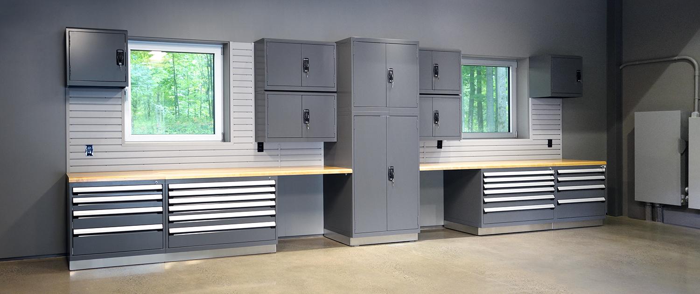 Produits - Mobilier de garage en acier_2 - Espace Garage Plus