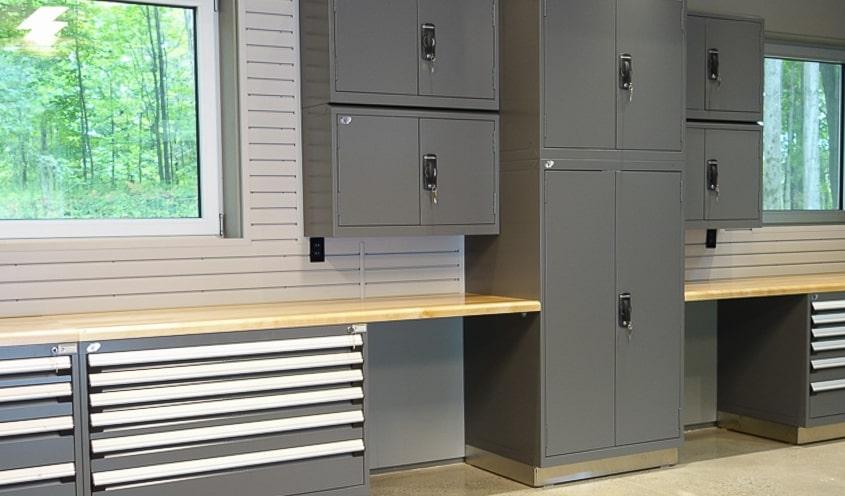 Produits - Mobilier de garage en acier - Espace Garage Plus