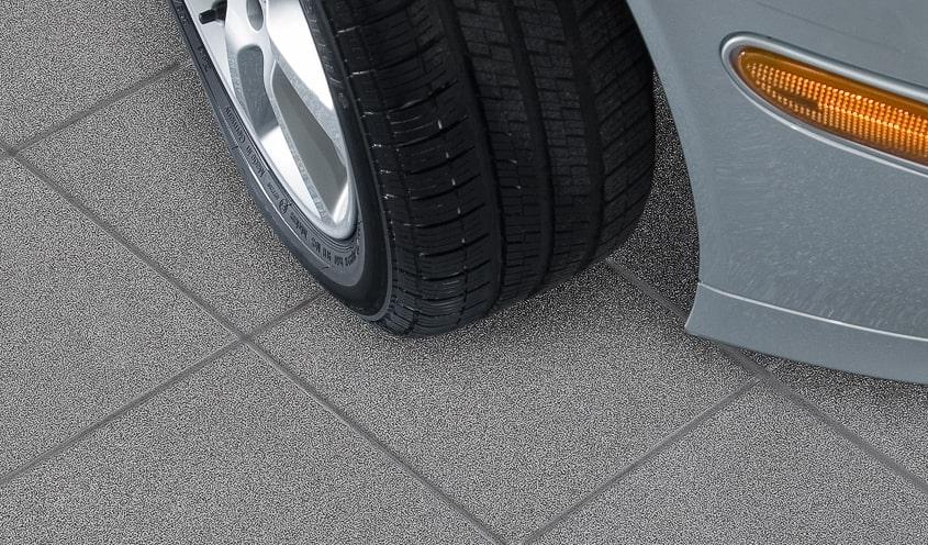 Produits - Plancher de garage en tuiles de porcelaine -Espace Garage Plus
