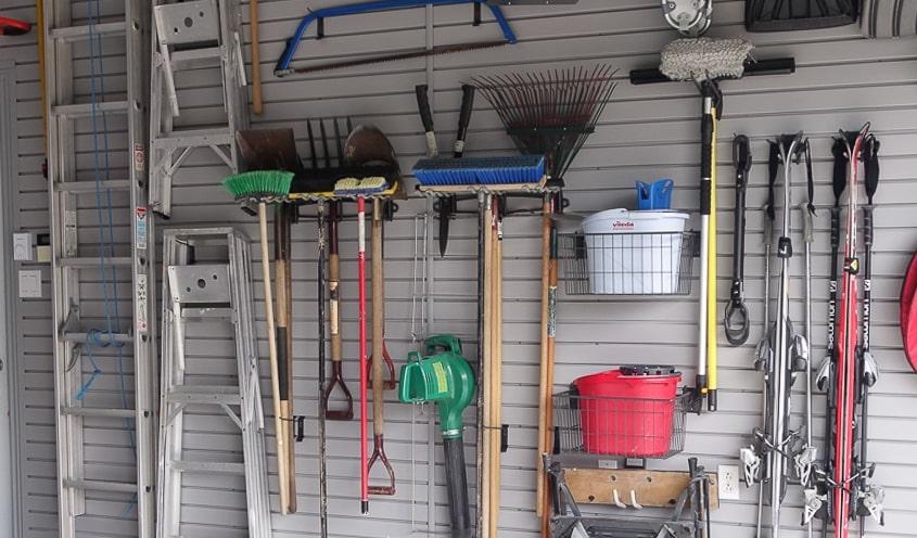 Produits - Rangement de garage aux murs - Espace Garage Plus