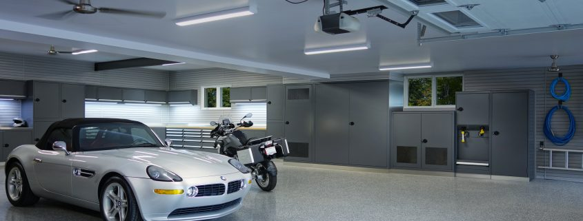 """A perfect garage allows for more than just parking"" - Espace Garage Plus"