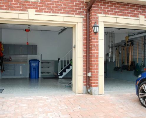 Aménagement garage double_Mont St-Hilaire_2_7_Espace Garage Plus