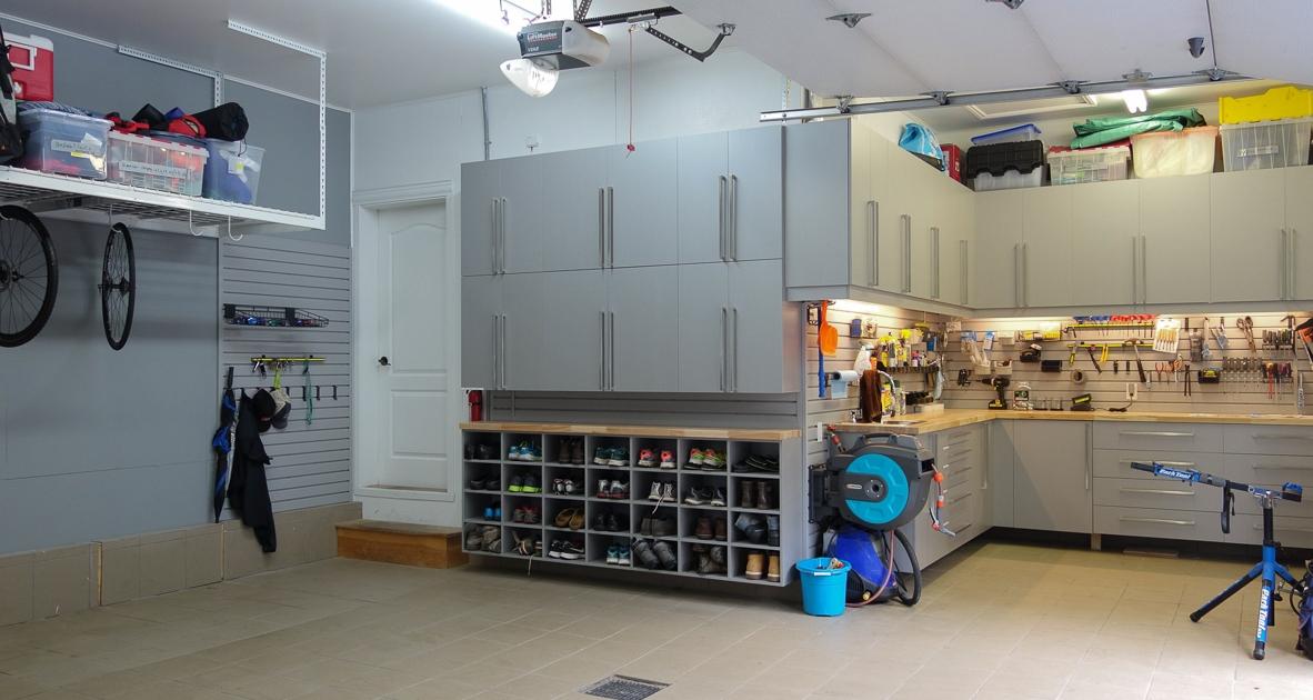 Aménagement garage double_St-Jérôme_1_1_Espace Garage Plus