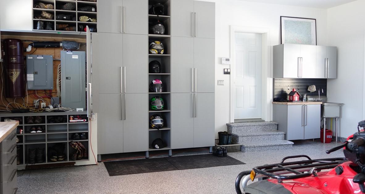 Aménagement garage double_Ste-Agathe_1_3_Espace Garage Plus