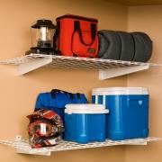 """""""Tablettes versus armoires de rangement"""" - Espace Garage Plus"""