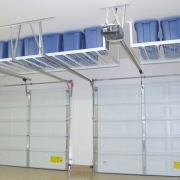 """Transforming the garage ceiling"" - Espace Garage Plus"
